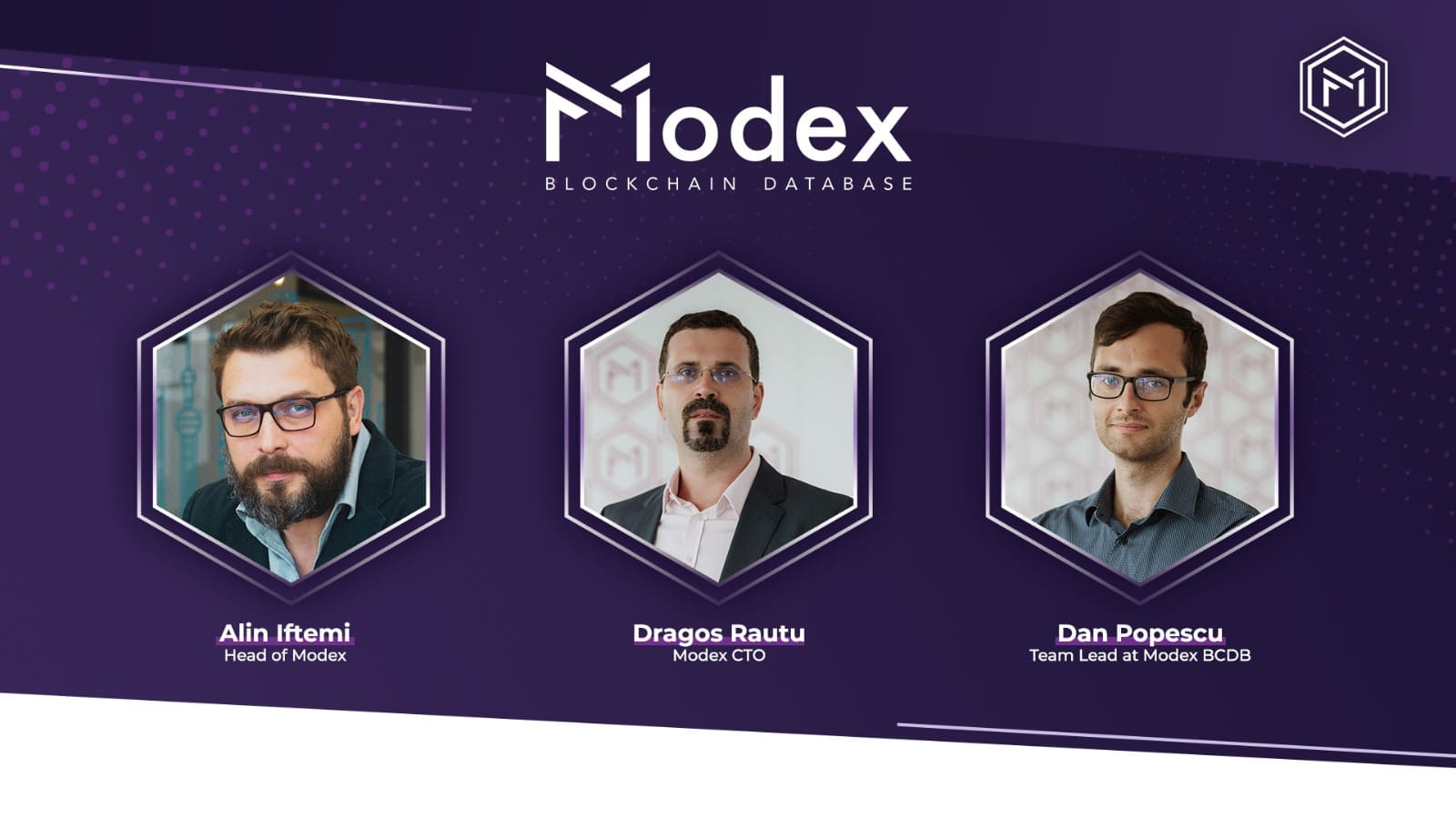 An open discussion with the minds behind Modex BCDB