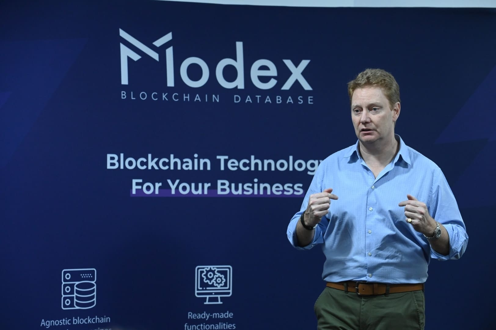 Modex welcomes Andrew Carwardine as a new Board member