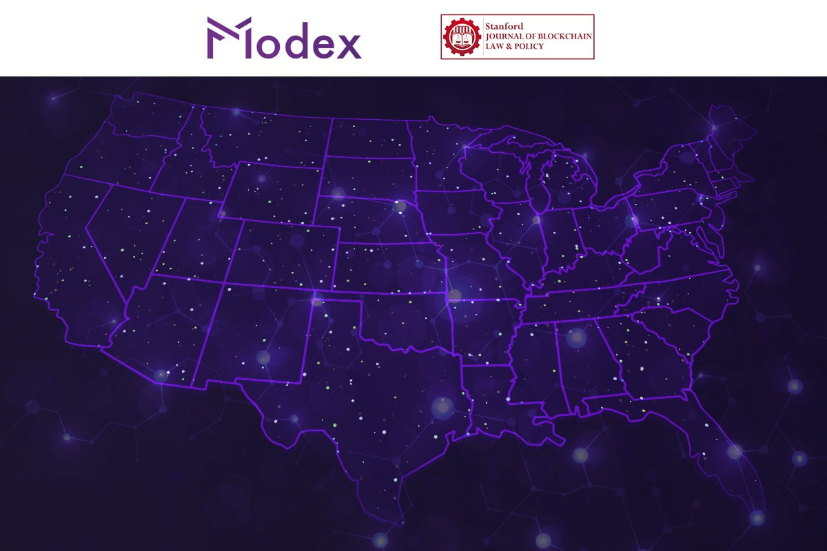 A perfect fit for Modex's US expansion: the Stanford Journal of Blockchain Law & Policy