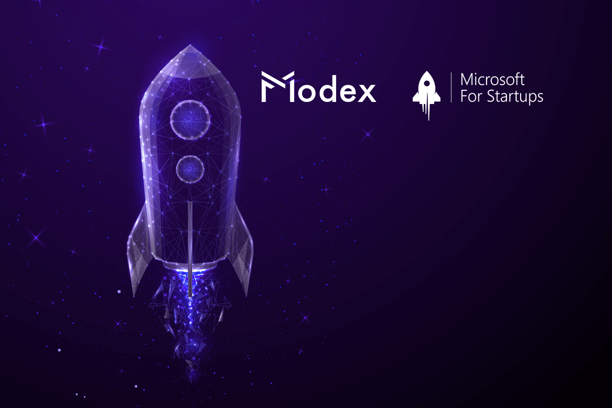 Modex has been accepted into Microsoft for Startups program