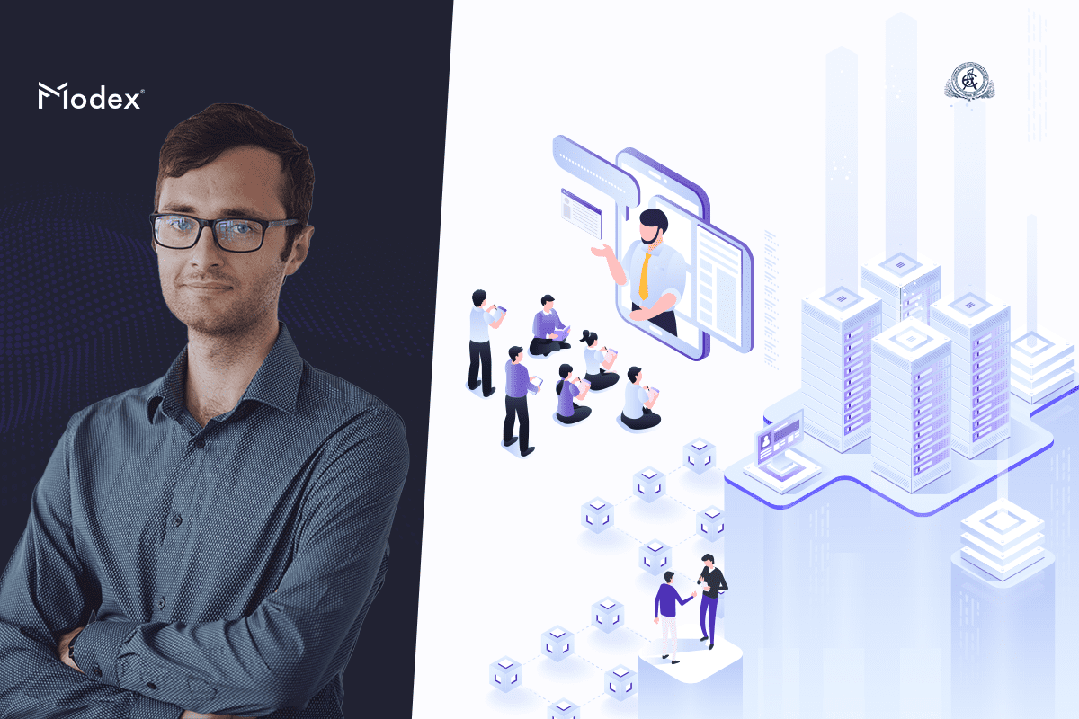 'Introducing Modex's technology in all databases' at Blockchain Suptech event