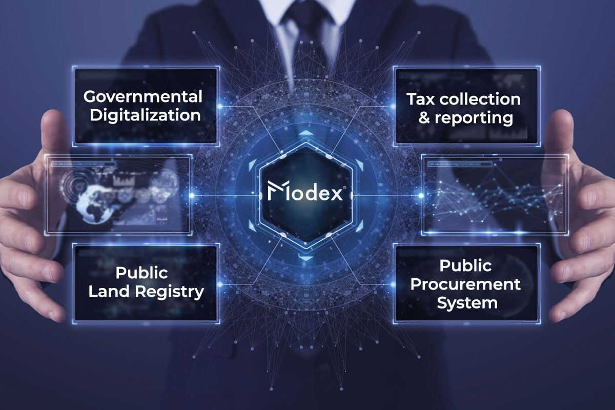 Modex facilitates the adoption of blockchain technology in the public sector